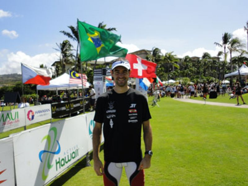 Olides Neto, atleta Anasol, completa o X-Terra World Championship