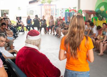 Ação social Dezembro Laranja Anasol: a prevenção é o melhor presente