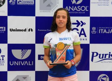 Igor Marcondes e Thaísa Pedretti vencem a Copa Santa Catarina Internacional de Tênis