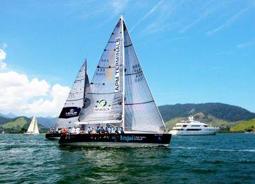 Itajaí Team Sailing na Regata Ilha de Caras